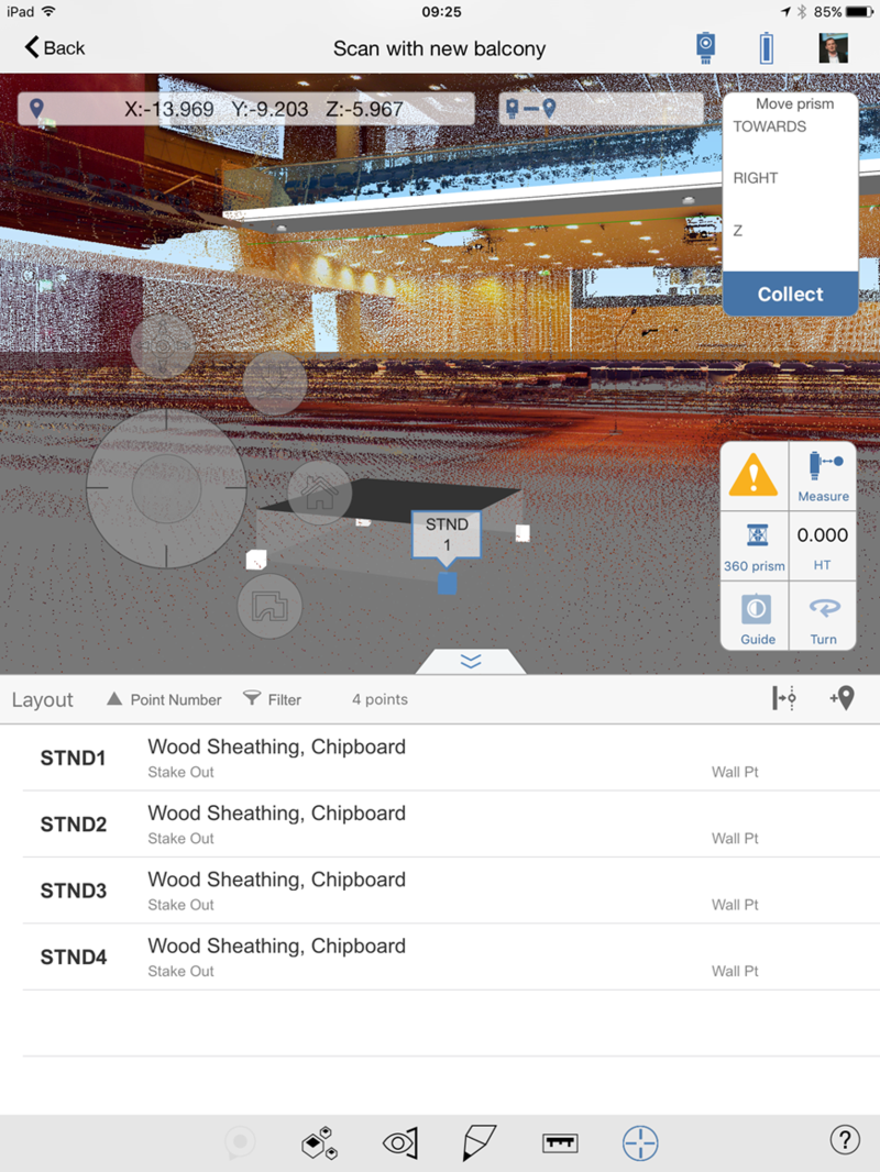 BIM 360 Layout ipad point cloud revit model BIM