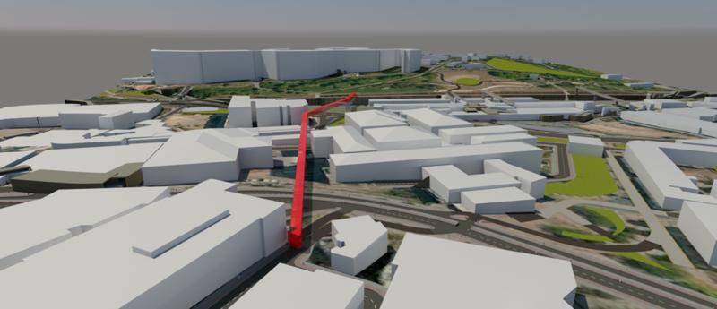 Sheffield Fastway Richard Hargate render Autodesk Infraworks