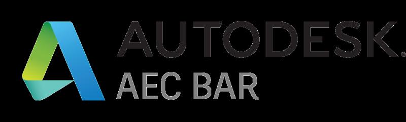 Autodesk AEC BAR LOGO youtube architecture engineering construction
