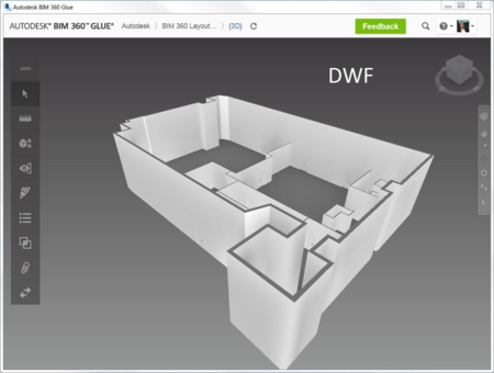 BIM 360 glue revit dwf