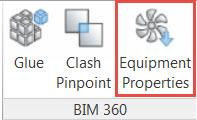 Revit BIM 360 Field Equipment Properties COBie
