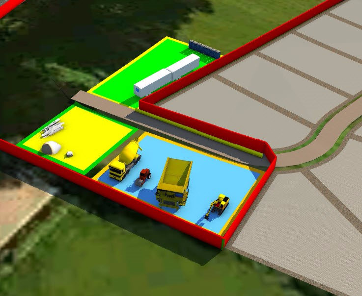 infraworks 360 construction site planning logisitcs