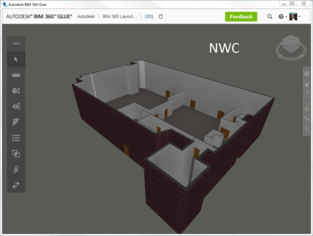 BIM 360 Glue NWC export Revit