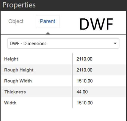 BIM 360 Glue DWF export Revit Properties