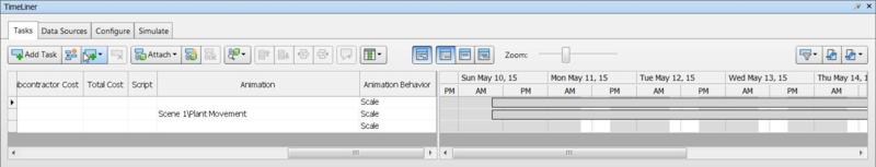 timeliner set up animator